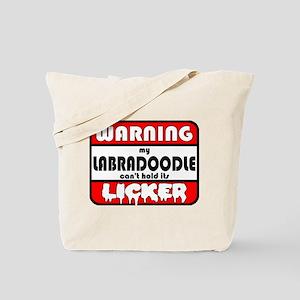Labradoodle LICKER Tote Bag
