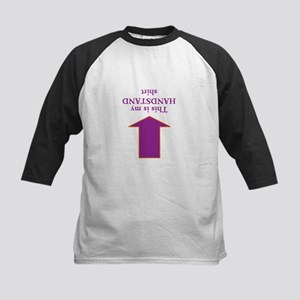 Handstand Shirt Baseball Jersey