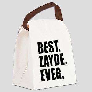 Best Zayde Ever Drinkware Canvas Lunch Bag