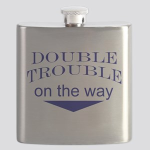 Funny expecting twins Flask