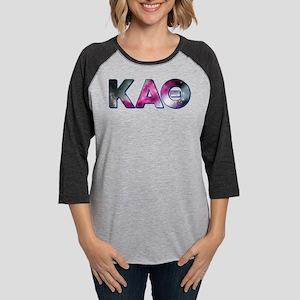 Kappa Alpha Theta Galaxy Womens Baseball Tee