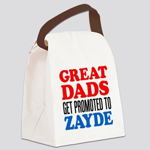 Promoted To Zayde Drinkware Canvas Lunch Bag
