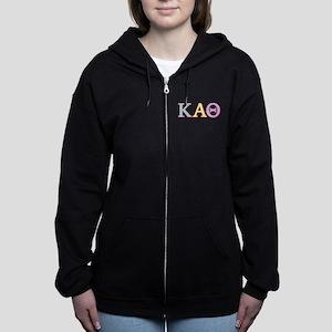 Kappa Alpha Theta Pastel Women's Zip Hoodie