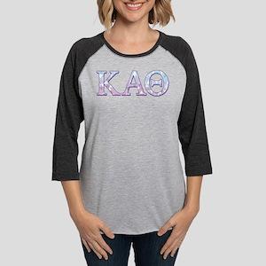 Kappa Alpha Theta Geometric Womens Baseball Tee