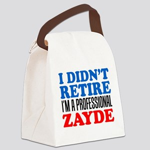 Didn't Retire Professional Zayde Canvas Lunch Bag