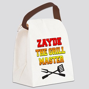 Zayde The Grill Master Drinkware Canvas Lunch Bag