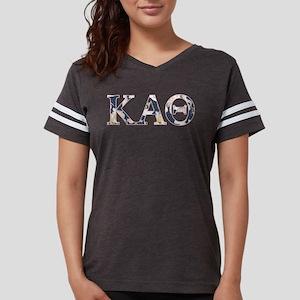 Kappa Alpha Theta Flower Womens Football Shirt