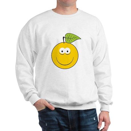 Apple/Fruit Smiley Face Sweatshirt