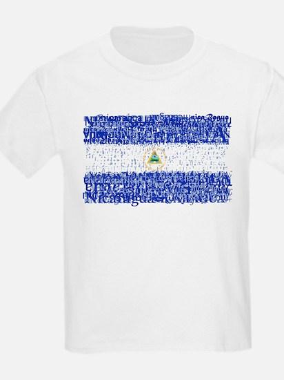 Textual Nicaragua T-Shirt