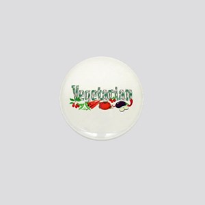 Vegetarian Mini Button