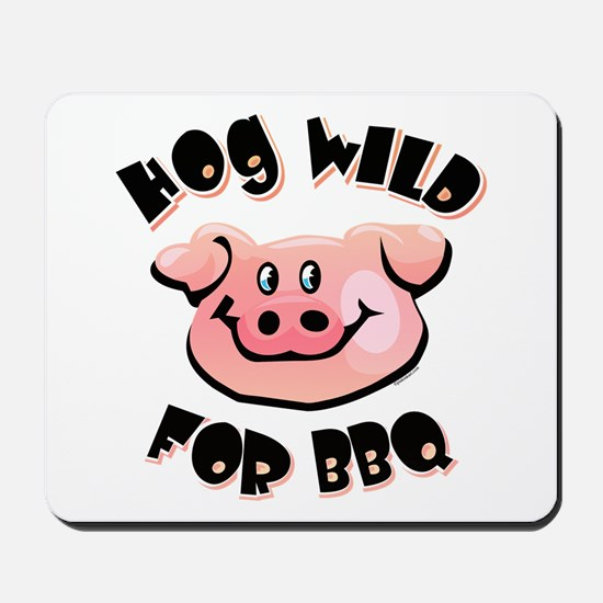 Hog Wild For BBQ Mousepad
