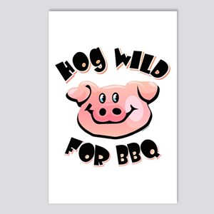 Hog Wild For BBQ Postcards (Package of 8)