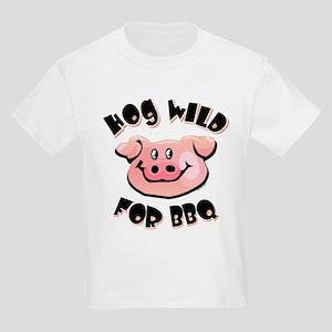 Hog Wild For BBQ Kids Light T-Shirt