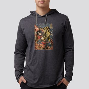 japanese martial arts samurai Long Sleeve T-Shirt