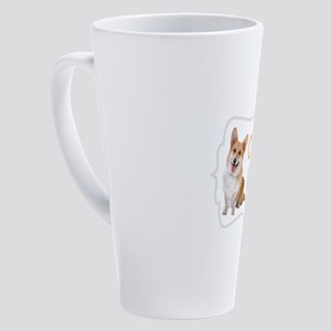 Im a Corgi Mom 17 oz Latte Mug