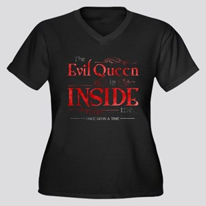 The Evil Quee Plus Size T-Shirt