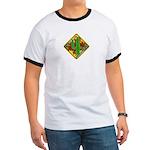 Cactus 4 Wheelers Ringer T T-Shirt