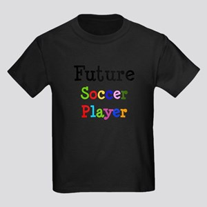 Soccer Player Kids Dark T-Shirt