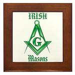 The Irish Masons Framed Tile