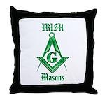 The Irish Masons Throw Pillow