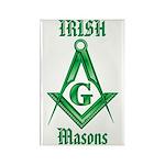 The Irish Masons Rectangle Magnet