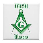 The Irish Masons Tile Coaster