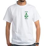 The Irish Masons White T-Shirt