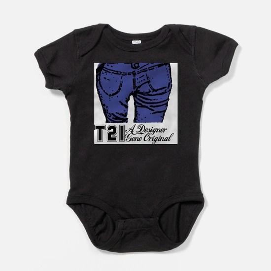 T21 Designer Genes Infant Bodysuit Body Suit
