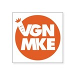 Vegan Milwaukee Logo Sticker