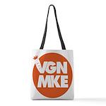 Vegan Milwaukee Logo Polyester Tote Bag
