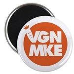 Vegan Milwaukee Logo Magnets