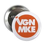 "Vegan Milwaukee Logo 2.25"" Button (100 pack)"