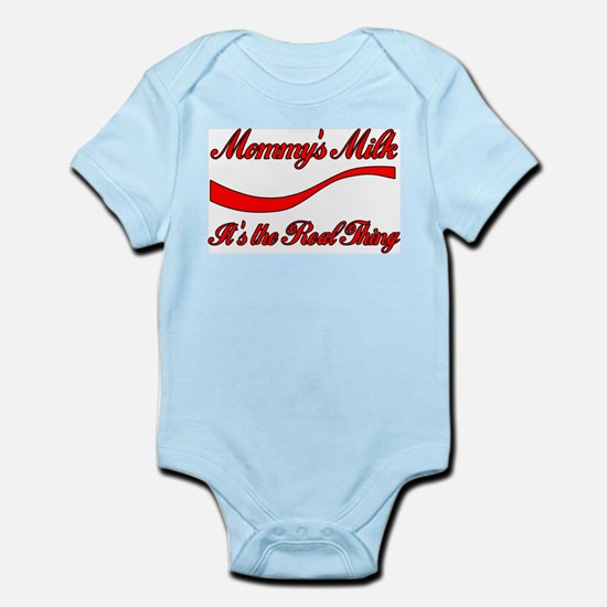 Mommy Milk Breastfeeding Infant Creeper
