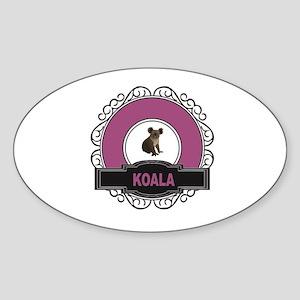 baby koala art Sticker