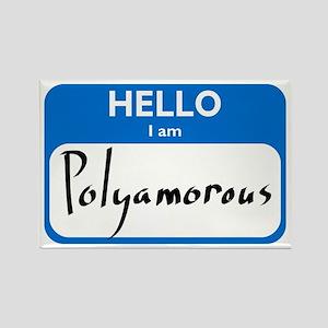 Polyamorous Rectangle Magnet