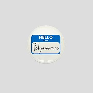 Polyamorous Mini Button