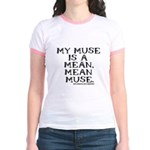 Mean Muse Jr. Ringer T-Shirt