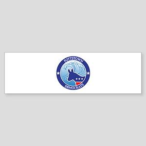 Pottstown Democratic Wave Bumper Sticker