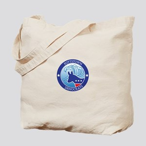 Pottstown Democratic Wave Tote Bag