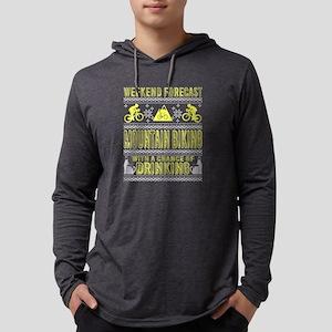 Mountain Biking With A Chance Long Sleeve T-Shirt