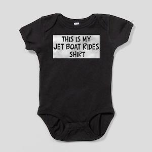 My Jet Boat Rides Infant Bodysuit Body Suit