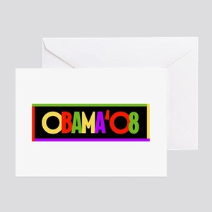 "Obama '08 ""COLORS"" - Greeting Cards (Pk of 10)"