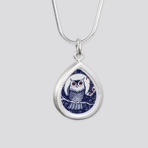 Blue Owl with Moo Necklaces