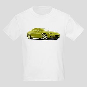 Yellow RX-8 Kids Light T-Shirt