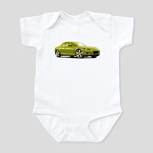 Yellow RX-8 Infant Bodysuit