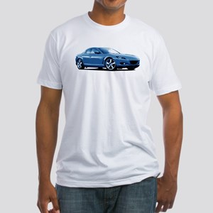 Blue RX-8 Fitted T-Shirt