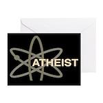 ATHEIST DARK Greeting Cards (Pk of 10)