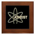 ATHEIST DARK Framed Tile
