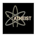 ATHEIST DARK Tile Coaster