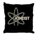 ATHEIST DARK Throw Pillow
